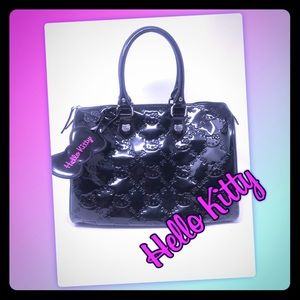 802e97282 EUC Hello Kitty Large Purse or Small overnight bag